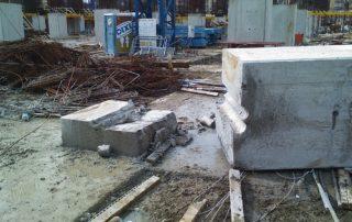 taiere beton timisoara